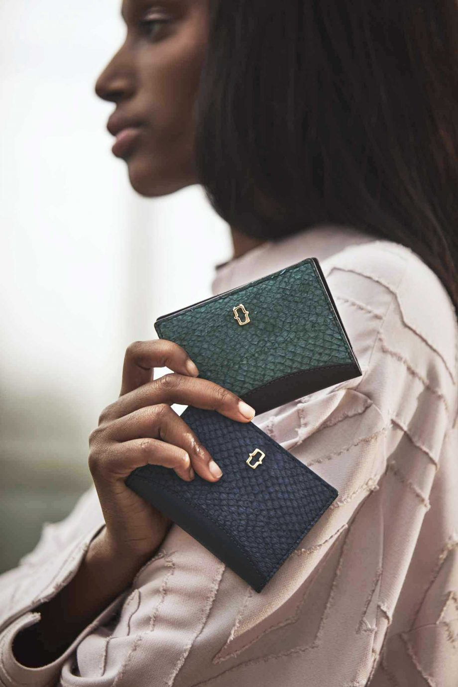 Ms_bay_wallets_leather_sustainable_fair_trade_luxury_blue_green_bifold_salmon_recycled_2
