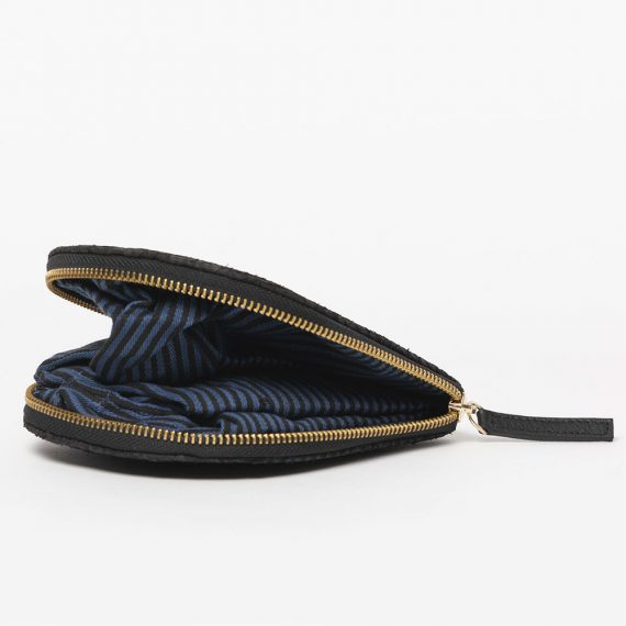 sustainable luxury buy shop salmon leather handbag