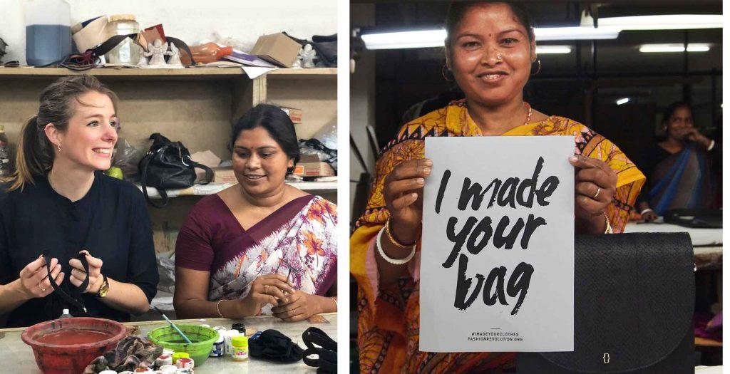 sustainable fair trade handbag